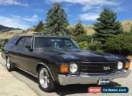 1972 Chevrolet Chevelle Malibu for Sale