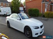 BMW 320i Convertible M-Sport White+RED seats ***MUST LOOK*** for Sale