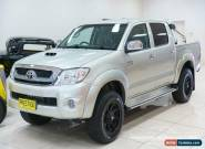2009 Toyota Hilux KUN26R 08 Upgrade SR5 (4x4) Silver Automatic 4sp A for Sale