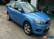 2010 FORD FOCUS ZETEC 100 BLUE 5dr Hatch 1.6 Petrol Cheap Trade Car for Sale