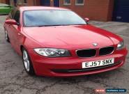 BMW 116i SE circus red 6 speed full Leather interior 64,000 miles for Sale