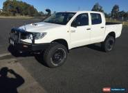toyota hilux 2012 turbo diesel dual cab ute 4x4 manual full service history for Sale