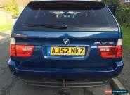 2002 BMW X5 D SPORT AUTO BLUE for Sale