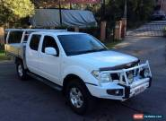 2011 Nissan Navara D40 ST (4x4) White Automatic 5sp A for Sale