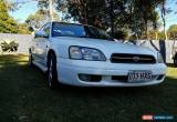 Classic Subaru Liberty 2000 RX Sedan P-plater 4 cylinder  Great first car  NO RESERVE for Sale