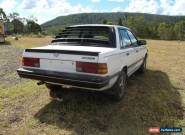 1987 Subaru RX Turbo 4x4 sedan. for Sale