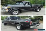 Classic Ford: F-250 Lariat for Sale