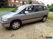 2004 VAUXHALL ZAFIRA DESIGN DTI 16V GREY for Sale