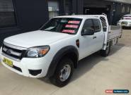 2011 Ford Ranger PK XL (4x2) White Manual 5sp M Super Cab Chassis for Sale