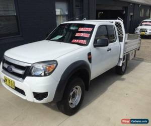 Classic 2011 Ford Ranger PK XL (4x2) White Manual 5sp M Super Cab Chassis for Sale