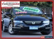 2004 Honda Odyssey 20 Luxury Black Automatic 5sp A Wagon for Sale