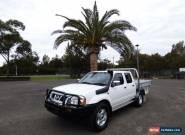 2005 Nissan Navara D22 S2 ST-R White Manual 5sp M 4D UTILITY for Sale