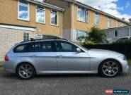 BMW 318D M Sport 2009 full service history 3 series touring estate silver  for Sale
