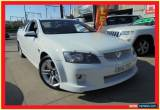 Classic 2009 Holden Ute VE MY09.5 SV6 White Automatic 5sp A Utility for Sale