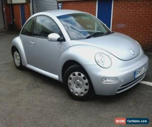 Classic 53-reg VOLKSWAGEN BEETLE 1.4 petrol SILVER spares or repaires for Sale