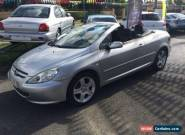 2004 Peugeot 307 CC Silver Automatic A Convertible for Sale