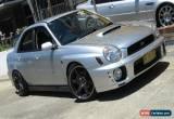 Classic 2002 Subaru Impreza MY02 RX (AWD) Silver Manual 5sp M Sedan for Sale