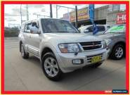 2001 Mitsubishi Pajero NM Exceed Silver Automatic 5sp A Wagon for Sale