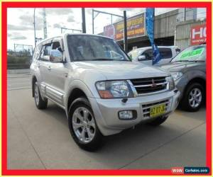 Classic 2001 Mitsubishi Pajero NM Exceed Silver Automatic 5sp A Wagon for Sale