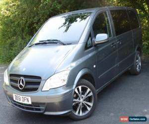 Classic 2011 MERCEDES-BENZ VITO 116 CDI DUALINER GREY for Sale