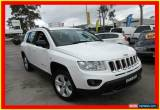 Classic 2012 Jeep Compass MK MY12 Sport White Manual 5sp M Wagon for Sale