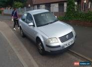 2003 VOLKSWAGEN PASSAT S 20V 95K EXPORT SPARES REPAIR LOTS OF MOT DRIVES WELL for Sale