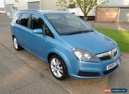 2006 VAUXHALL ZAFIRA DESIGN AUTO BLUE for Sale