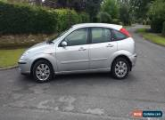 2004 FORD FOCUS GHIA SILVER 2004 54 reg  Extremely Low Miles  for Sale