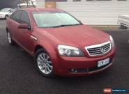 2006 Holden Statesman WM V8 Red Automatic 6sp A Sedan for Sale