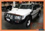 Classic 2000 Nissan Patrol GU II ST (4x4) White Manual 5sp M Wagon for Sale