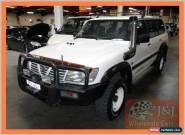 2000 Nissan Patrol GU II ST (4x4) White Manual 5sp M Wagon for Sale