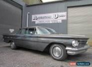 1960 PONTIAC STAR CHIEF 4 DOOR HARD TOP VERANDA ROOF 389 AUTO LHD for Sale
