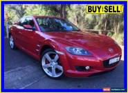 2005 Mazda RX-8 MY06 Red Manual 6sp M Coupe for Sale