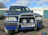 1997 VAUXHALL FRONTERA SPORT SWB BLUE SPARES OR REPAIRS OFF ROADER for Sale
