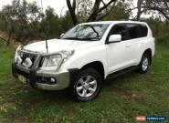 2012 Toyota Landcruiser Prado KDJ150R 11 Upgrade GXL (4x4) White Automatic 5sp for Sale