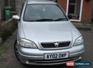 2002 VAUXHALL ASTRA SXI 16V SILVER for Sale