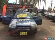 2006 Subaru Forester MY06 XS Blue Automatic 4sp A Wagon for Sale