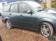 Ford Focus Estate 2002 Green for spares or repairs for Sale