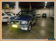 2000 Holden Jackaroo U8 LWB (4x4) Blue Manual 5sp M Wagon for Sale