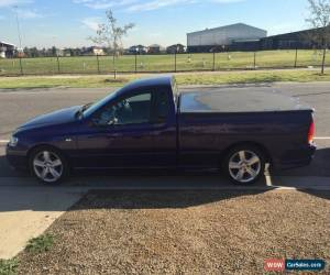 Classic Ford Turbo Ute  for Sale