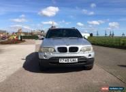 2001 BMW X5 SPORT AUTO SILVER for Sale
