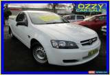 Classic 2010 Holden Commodore VE MY10 Omega White Automatic 4sp A Utility for Sale