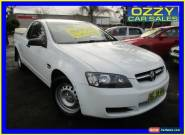 2010 Holden Commodore VE MY10 Omega White Automatic 4sp A Utility for Sale