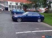 2005 BMW 520D SE BLUE for Sale
