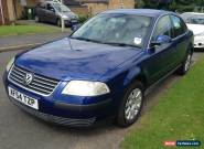 2004 VOLKSWAGEN PASSAT S TDI BLUE for Sale