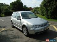 2001 VOLKSWAGEN MK4 GOLF GTI 1.8 TURBO  MOT OCT NO RESERVE for Sale