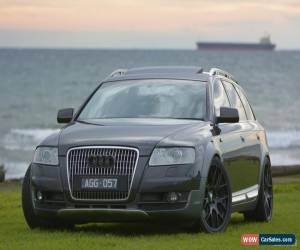 Classic 2007 Audi Allroad 4F Quattro Metallic Charcoal Automatic 6sp Auto Wagon for Sale