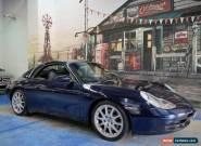 2000 Porsche 911 Carrera 996 Cabriolet Dark Blue Automatic 5sp A Convertible for Sale