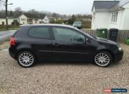 VW Golf GT TDI 2008, 5 Door, Black, Leather, 176,000 Miles  for Sale