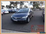 2007 Honda Civic 40 VTi-L Blue Manual 5sp M Sedan for Sale